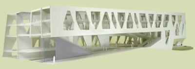 Prostorni model nove zgrade Građevinskog fakulteta